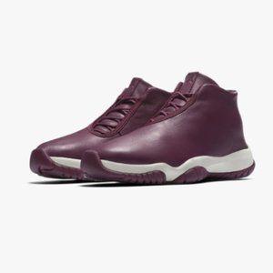 Air Jordan Women's Future Bordeaux Mid Top Sneaker